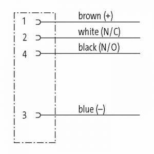 PUR Aansluitkabel 4-aderig M12 Dragchain