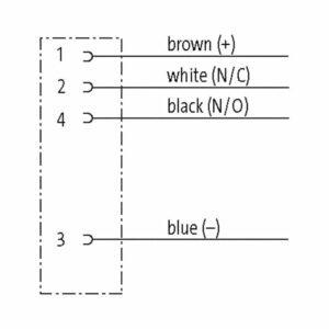 TPE Aansluitkabel 4-aderig M12 Dragchain