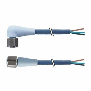 TPE 4-wire M12 dragchain connection cable