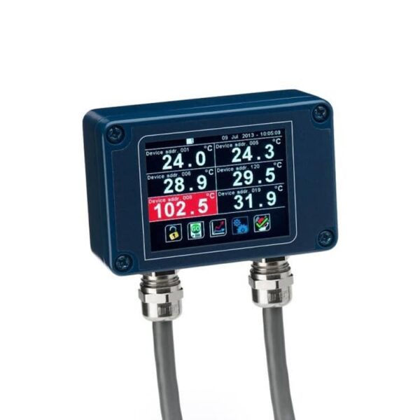 The pm180 i-tec touch screen terminal for pyrometers