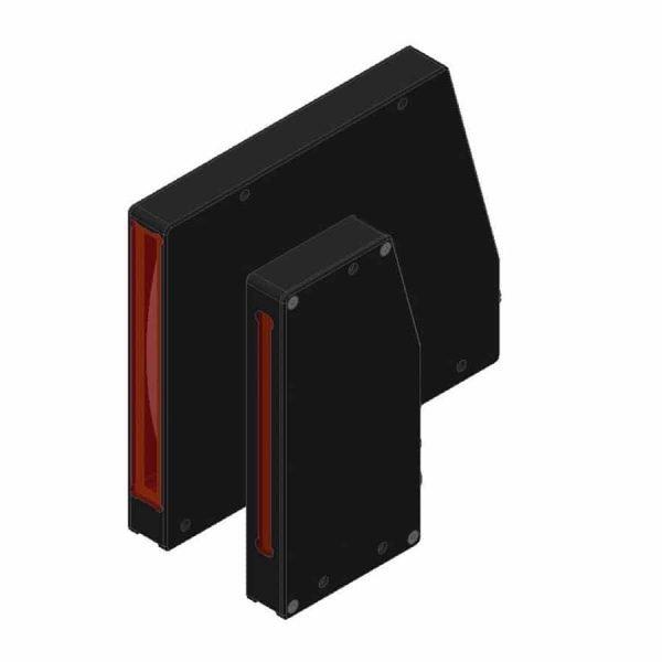 Lasergordijn van Sensor Instruments de L-las-tb serie