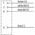 PVC Aansluitkabel 4-aderig M8