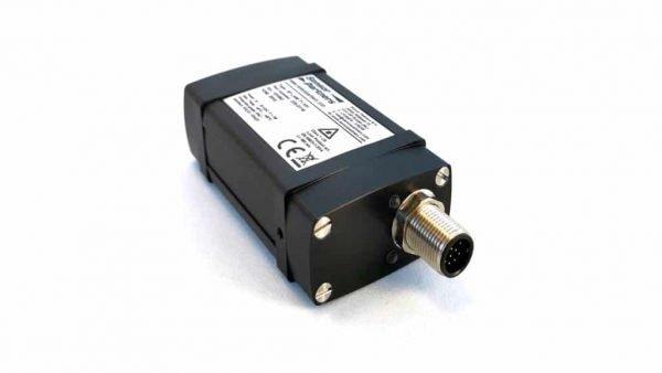 De achterzijde van de LAM 70 afstandslaser met connector