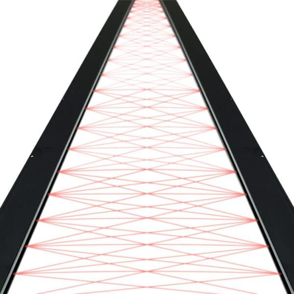 Crossbeams van de SG10 lichtschermen van Telco Sensors