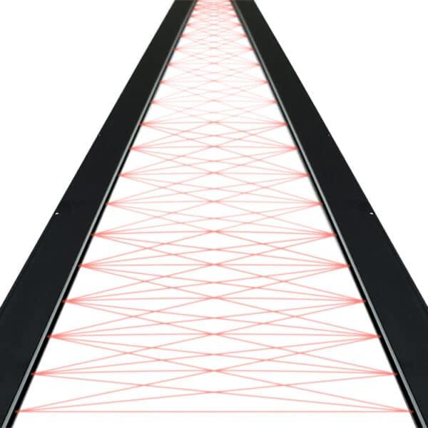Cross beams SG10 M/S lichtschermen van Telco Sensors