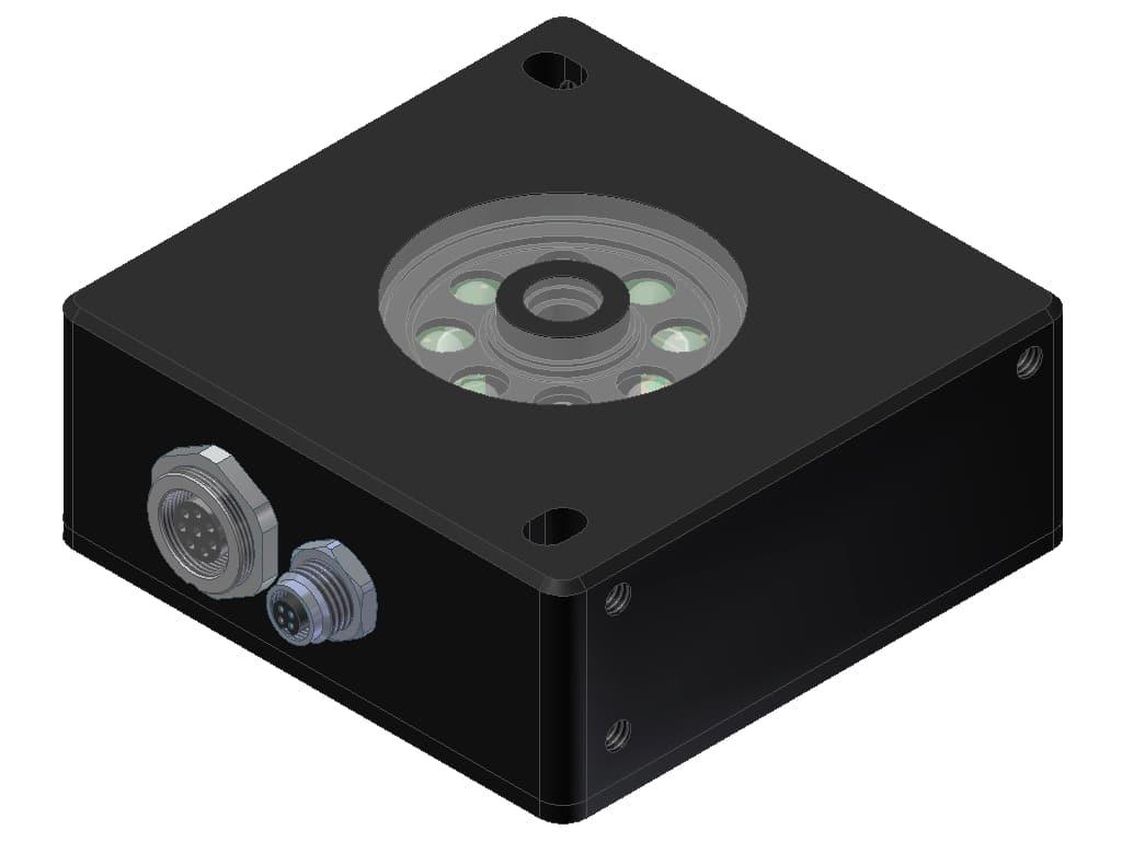 De kleurendetectie sensor SPECTRO-3-50-FCL-JR