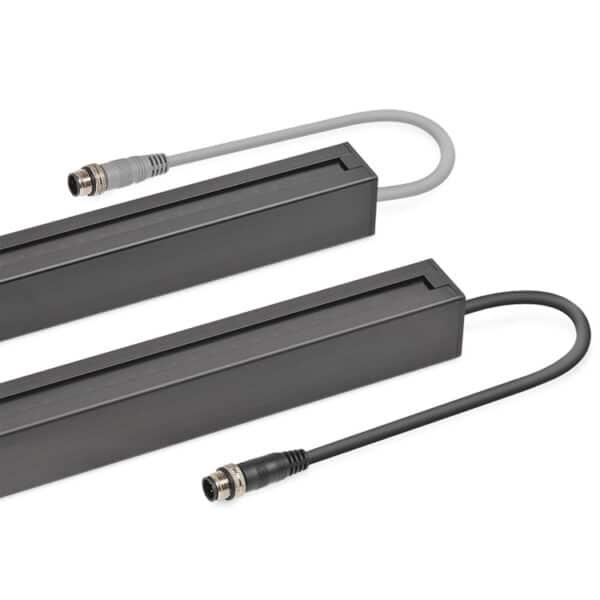 Connectors van SS01 lichtschermen Telco Sensors