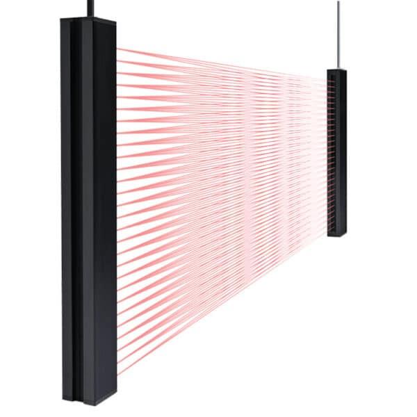 Crossed beams SS01 lichtscherm Telco Sensors