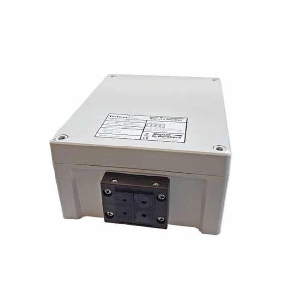 De voorkant van de SGC 11 IP65 controller van Telco Sensors