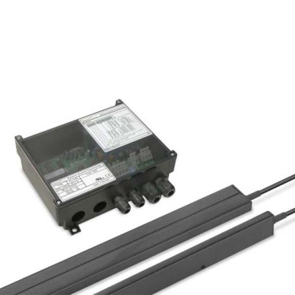 De SG11 lichtschermen en de SGC 11 A 500 controller van Telco Sensors