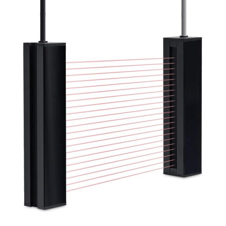 Telco Sensors ss01 serie zender en ontvanger lichtscherm