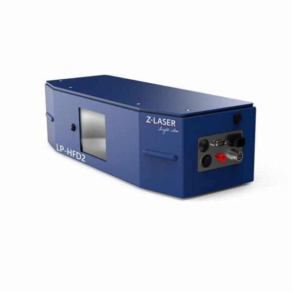 De voorkant van de LP-HFD2 laserprojector van Z-Laser