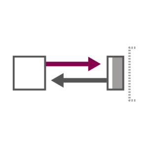 Background suppression fotocellen die alleen objecten op de voorgrond detecteren en de rest negeren