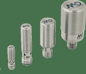 De FullMetal serie van MicroDetectors voor chemische bestendigheid en bestendigheid voor sensoren in druk