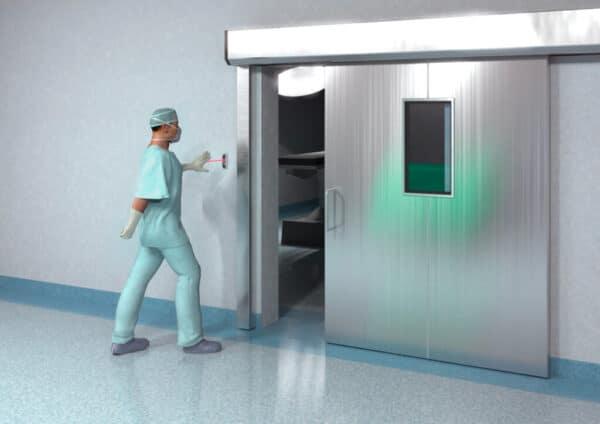 Hotron J-Wave applicatie ziekenhuis